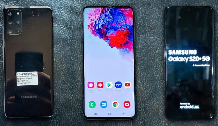 Samsung Galaxy S20+ tem suas primeiras fotos vazadas