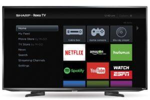 Roku TV é compatível com Netflix e Globoplay